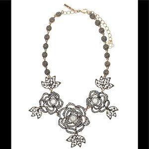 Oscar de la Renta exquisite crystal flowers